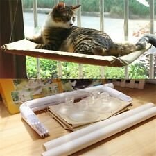 Pet Cat Hammock Sunny Seat Bed Hanging Sunshine Suction Washable Window Bed New
