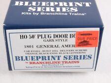 Branchline 1801 HO 50' Plug Door Box Car Kit General American GARX #51024