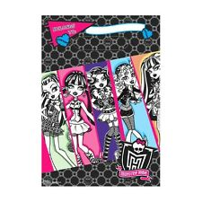 8 Monster High Birthday Party Loot Gift Plastic favor Bags