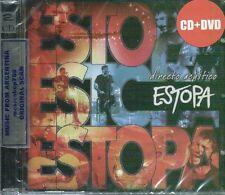 CD + DVD SET ESTOPA ESTO ES ESTOPA DIRECTO ACUSTICO SEALED NEW 2014 LIVE