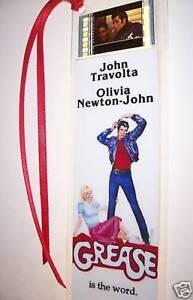 GREASE Movie Memorabilia Film Cell Bookmark