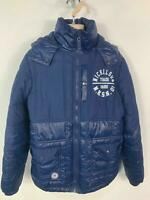 BOYS NICKELSON BLUE CASUAL WINTER PADDED RAIN COAT HOOD JACKET KIDS AGE 13 YEARS