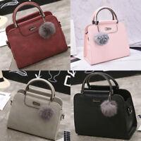 Mode Frauen Leder Schultertasche Tote HandtascheCrossbody Messenger Handtasch TG