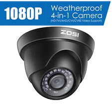 Zosi Outdoor Home Security System Surveillance Camera 1080p Hd 4in1 Night Vision