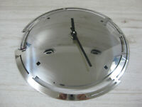 AMC Edelstahl Uhr Wanduhr 24,5cm Durchmesser