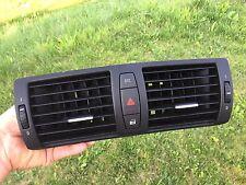 BMW E81 E82 E87 E88 CENTER AIR VENT GRILL IN DASHBOARD HAZARD SWITCH