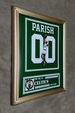 Boston Celtics Robert Parish 8x10 framed Jersey photo Green X