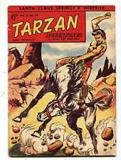 Tarzan Adventures Vol 8 #39  Dec 1958 Western Publishing British  CBX38B