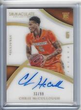 2015 Immaculate College Edition Chris McCullough Auto 33/99 Syracuse