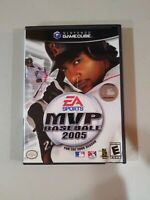 MVP Baseball 2005 (Nintendo GameCube, 2005) Works Great, Case Damaged Slightly