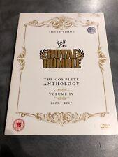 WWE ROYAL RUMBLE Complete Anthology Volume 4 2003 - 2007 DVD BOX