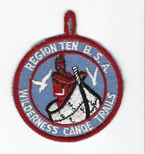 BOY SCOUT   REGION 10 WILDERNESS CANOE TRAIL  C/E PP