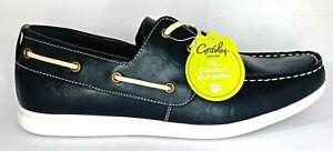 Grosby Lace up Comfort Boat shoes Men's UK 7, US 8, EU 41, 25.7 cm