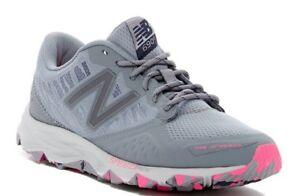 NEW BALANCE Women's WT690RG2 TRAIL RUNNER Gunmetal/Pink SNEAKERS SHOES-  9