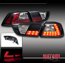 08-16 MITSUBISHI LANCER EVOLUTION LED ALTEZZA TAIL LIGHTS LAMP BLACK 10 11 12 13