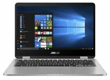 "ASUS VivoBook Convertibile Touch 11.6"" Flip Laptop Intel Dual N3350 4GB 32GB Core"