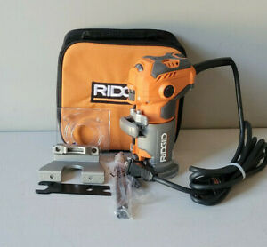 RIDGID 5.5 Amp Compact Fixed-Base Corded Router R24012 *Used*