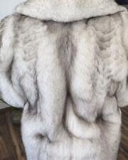 Neu Fuchs Blaufuchs Pelz - Gr. 44/46 Fur Fox - PellIccia Fourrure Mex Piel Päls