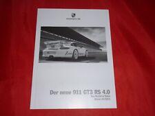 PORSCHE 997 911 GT3 RS 4.0 Preisliste die Modelle in Daten von 2011