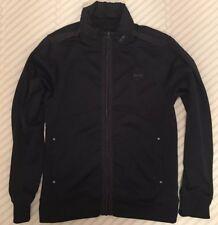 Bench UrbanWear Mens Zip Up Hooded Sweatshirt Jacket BlackSz L