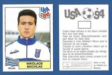 FIGURINA CALCIATORI PANINI USA 94 - NUOVA/NEW - N.280 MACHLAS - HELLAS