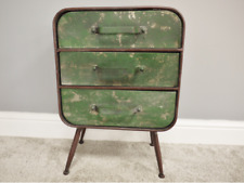 Industrial Metal Chest Of Drawers Storage Unit Bedside Cabinet Cupboard Vintage