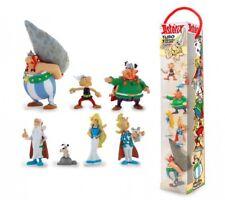 Astérix et Obélix tubo 7 figurines Le Village d'Astérix 2,5 - 9,5 cm 703855
