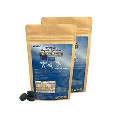 Organic Spirulina Tablets 500g- Immune Natural Health Food Protein Supplement