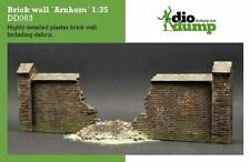 DioDump DD063 Brick wall 'Arnhem' 1:35 scale military ww2 diorama accessory