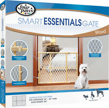 Plastic Mesh Wood Frame Gate,  by Four Paws Products Ltd