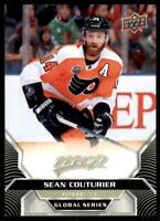 2020-21 UD MVP Base Global Series SP #GSC-5 Sean Couturier