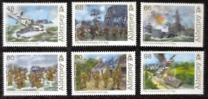 Alderney - 2019 - 75th Anniversary of D Day - MNH Set of 6 Stamps