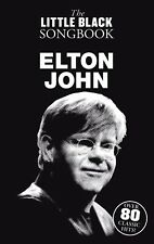 ELTON JOHN - THE LITTLE BLACK SONGBOOK CHORD LYRICS SHEET MUSIC SONG BOOK