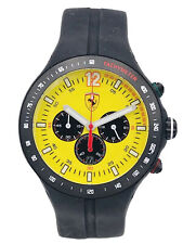 Watch Ferrari F1 Club 45mm Fey / 428 Chrono Steel Rubber on Sale New