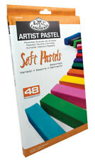 48 SOFT PASTELS BOX SET PREMIUM FULL LENGTH ARTISTS ASSORTED COLOURS  CPA-A48