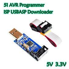 USBASP USB ISP Programmer for Atmel AVR:ATMega328, ATMega32U4, Arduino