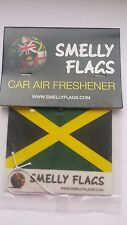 Smelly Flags -Car Air Freshener -JAMAICA- Gift Present Best match Christmas