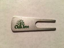 Pro Golfer Jerry McGee's Oak Tree Golf Club Metal Divot Tool - A Beauty!