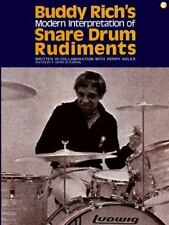 Buddy Rich's Modern Interpretation Of Snare Drum Rudiments Buddy Rich, Henry Ad
