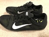 NWOB Nike Zoom XC Track Cross Country Spikes Men's 11 Black White