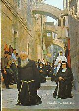 B95394 via dolorosa procesion near the fifth station  jerusalem   israel