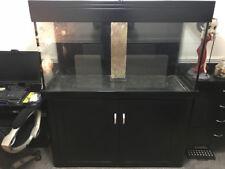 Aqua One 400l Marine Aquarium Tank Cabinet Custom Plumbing Upgraded Sump Black