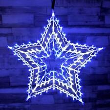 Large Christmas 100 LED Star Silhouette Animated Outdoor Xmas Decoration Lights
