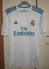Real Madrid 2017-2018 Home Soccer Footbal Jersey Shirt Camiseta adidas Size  L 282a12431a3cb