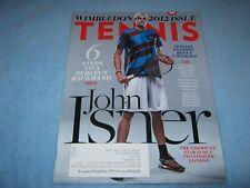 Tennis Magazine John Isner Wimbledon Special Issue July August 2012