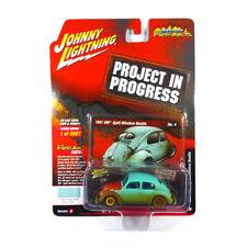 Johnny Lightning JLSF010A-4 VW Beetle Matte Mint - Project in progress 1:64 New
