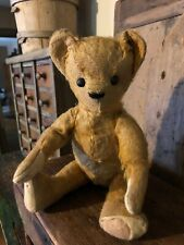 Sweet Little Nearly Bald Primitive Antique 10� Jointed Mohair Teddy Bear