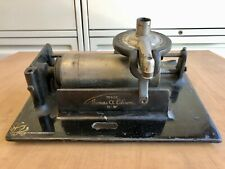 Edison Fireside Cylinder Phonograph Bed Plate Upper Works Diamond B Reproducer