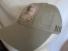 National Rifle Association NRA Gray Baseball Hat Cap One Size Mens EMBROIDERED!!