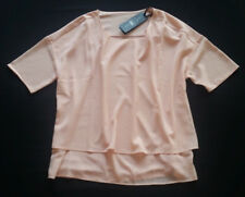 LUISA CERANO Shirt rosé Kurzarm Gr. 40/42--UK14 ***NEU
